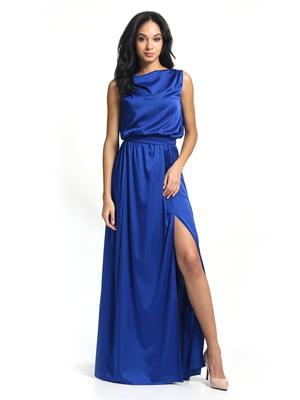 Сукня кольору електрик | 5626374