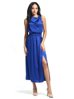Сукня кольору електрик | 5626375