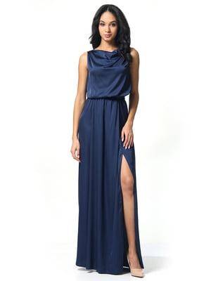 Платье темно-синее | 5626378