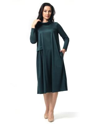 Сукня темно-зелена | 5626415