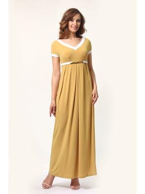 Сукня гірчичного кольору | 5626497