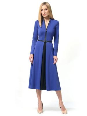 Платье цвета электрик | 5626510