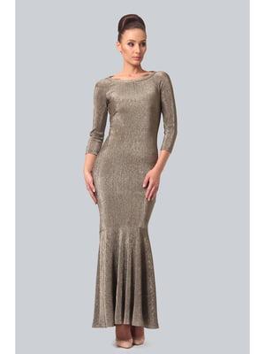 Платье золотистое | 5626540