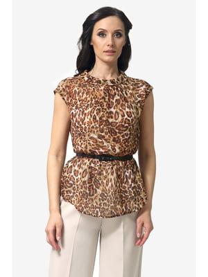 Блуза анималистической расцветки   5626721