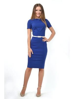 Платье цвета электрик | 5626873