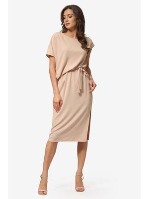 Сукня пісочного кольору | 5626898
