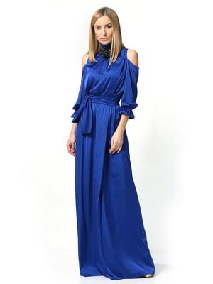 Платье цвета электрик | 5626904