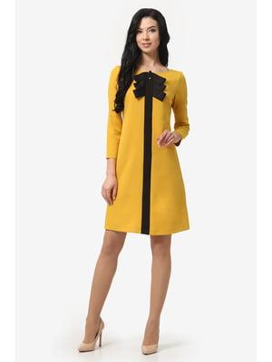 Сукня гірчичного кольору | 5626954