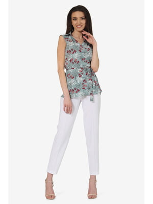Костюм: блуза и брюки | 5627040