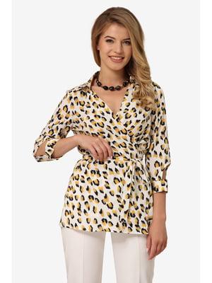 Блуза анималистической расцветки | 5627055