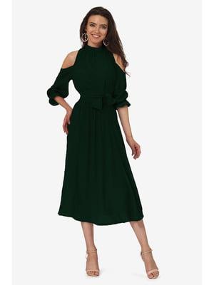 Сукня темно-зелена | 5627084