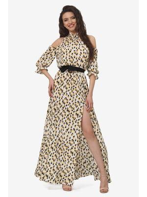 Платье анималистической расцветки | 5627101