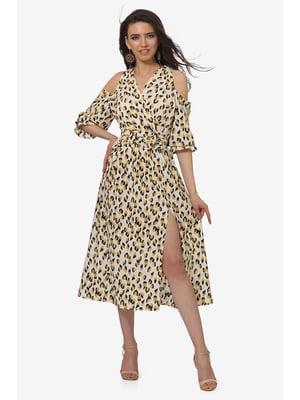 Платье анималистической расцветки | 5627123
