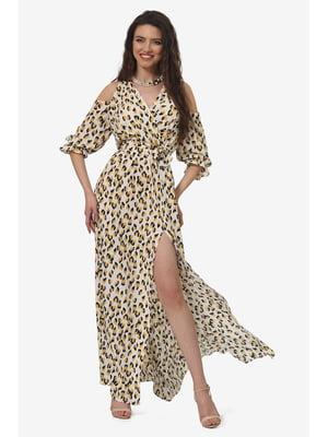 Платье анималистической расцветки | 5627124