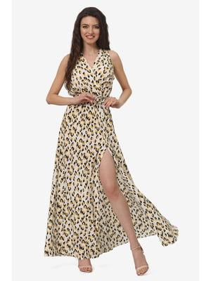 Платье анималистической расцветки | 5627132