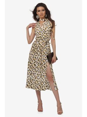 Платье анималистической расцветки | 5627169