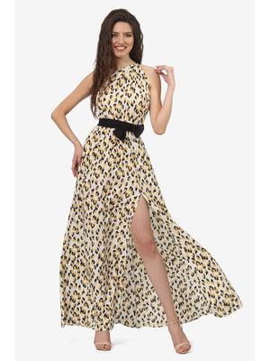 Платье анималистической расцветки | 5627199