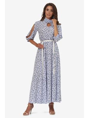 Сукня блакитна | 5627229
