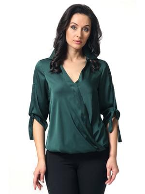 Блуза зеленая | 5627265