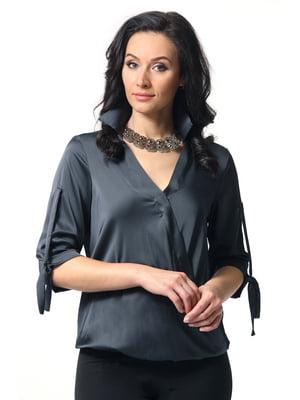 Блуза графитового цвета | 5627266