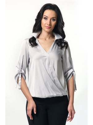 Блуза светло-серая | 5627267