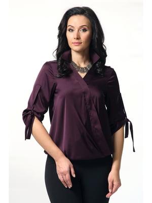 Блуза фиолетовая | 5627268