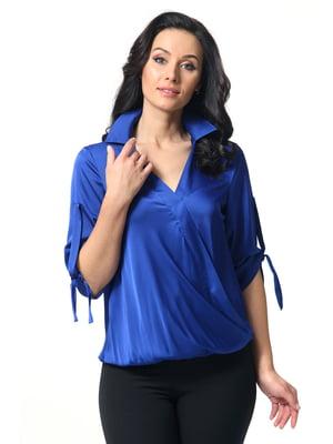 Блуза цвета электрик   5627269