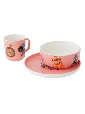 Набір посуду Monsters (3 предмета)   5628151
