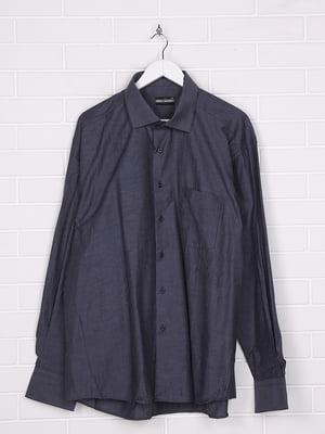 Рубашка серая в полоску | 5628512