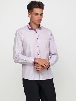 Рубашка цвета фрезии в полоску | 5628520