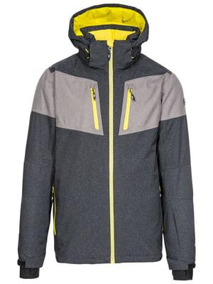Куртка горнолыжная комбинированного цвета | 5627392
