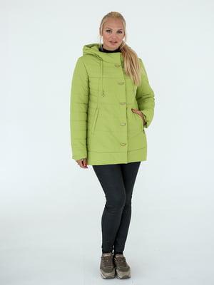 Куртка салатового кольору | 5628767