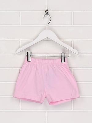 Шорти рожевого кольору | 5604506
