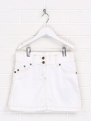 Спідниця джинсова біла | 5628622