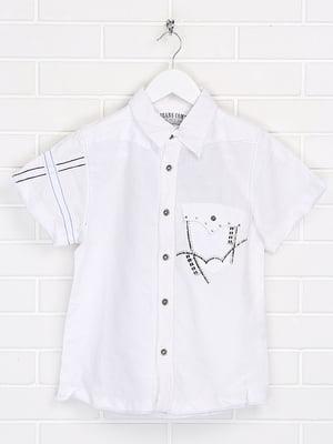 Сорочка біла з декором | 5628688