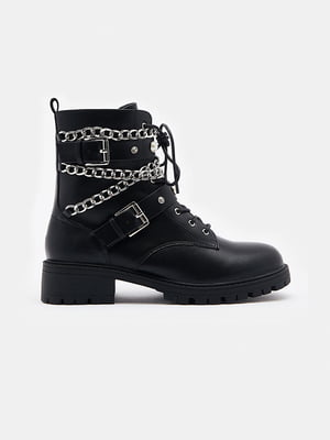 Ботинки черные | 5628303
