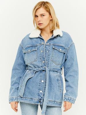 Джинсова куртка блакитна | 5628367