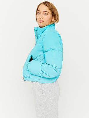 Куртка голубая | 5628376