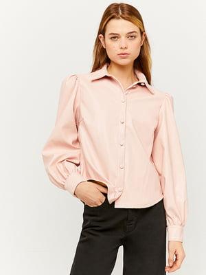 Рубашка пудрового цвета | 5628481