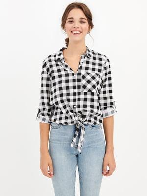 Блуза в клетку | 5375531