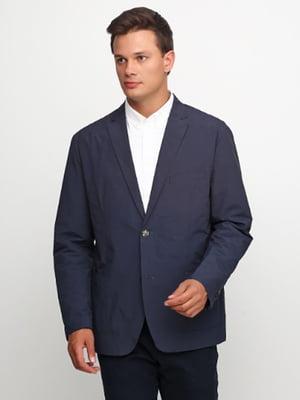 Пиджак темно-синий | 5619626