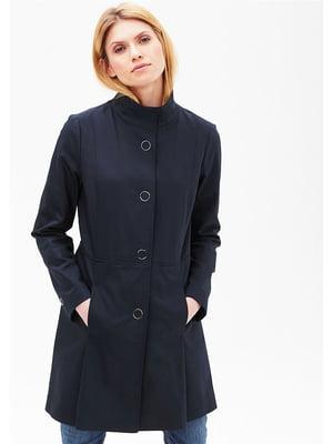 Пальто синее | 5628561