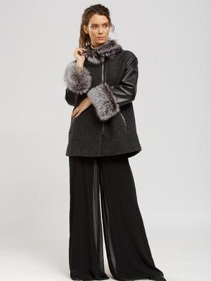 Куртка серо-черная | 5629516