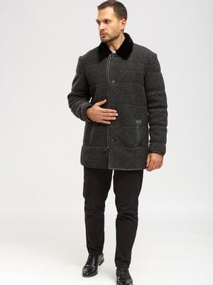 Дубленка-куртка серая | 5629518
