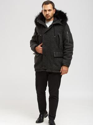 Куртка темно-серая | 5629527