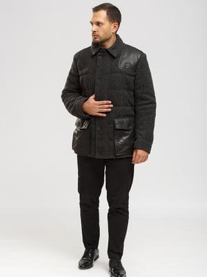 Куртка-дубленка серая | 5629528