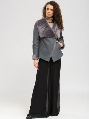 Дубленка-куртка серая | 5629586