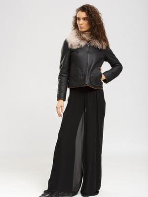 Куртка-дубленка черная | 5629588