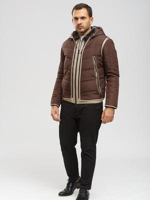 Дубленка-жилет коричневая | 5629630