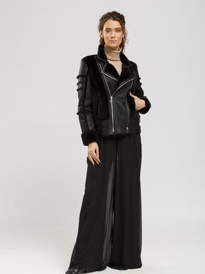 Куртка-дубленка черная   5629641